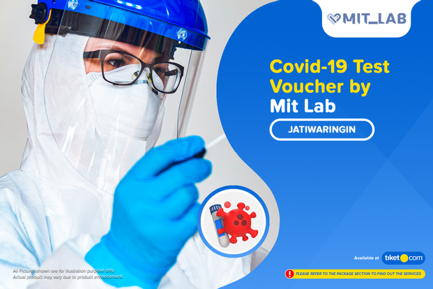 COVID-19 PCR / Swab Antigen Test by Mit_Lab Jatiwaringin