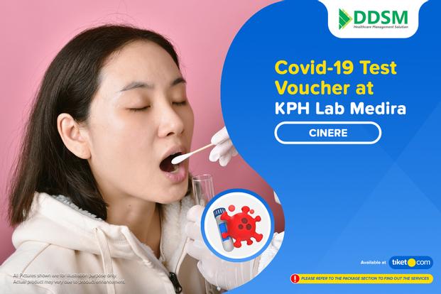 COVID-19 Rapid / PCR / Swab Antigen Test by KPH Lab Medira Cinere Depok