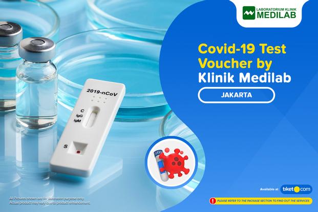 COVID-19 PCR / Swab Antigen Test by Klinik Medilab Jakarta