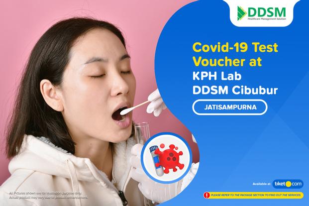 COVID-19 Rapid / PCR / Swab Antigen Test by KPH Lab. DDSM Cibubur