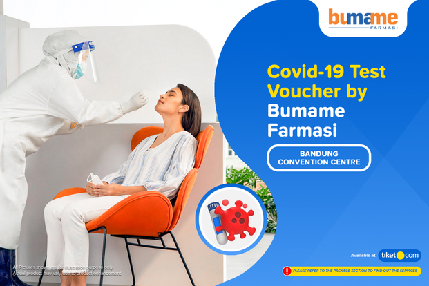 COVID-19 PCR / Swab Antigen Test by Bumame Farmasi Bandung Convention Centre