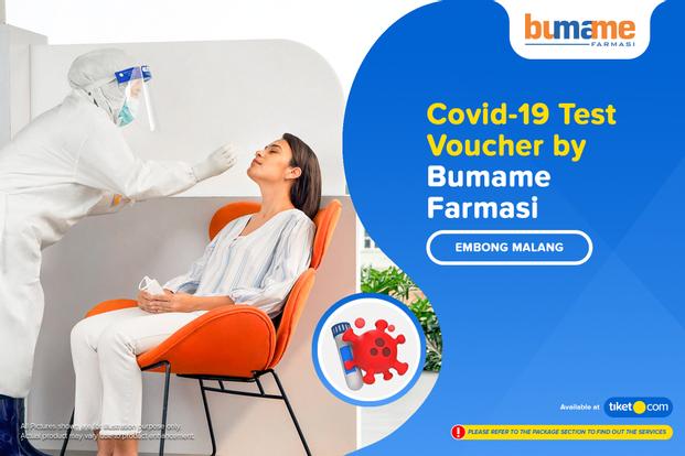 COVID-19 PCR / Swab Antigen Test by Bumame Farmasi Embong Malang