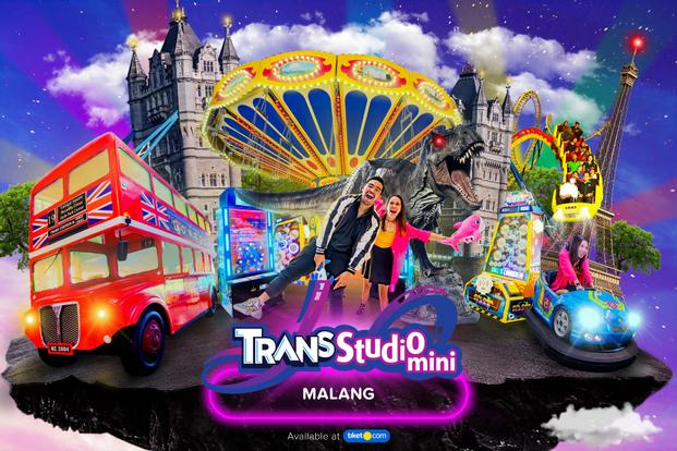 Tiket Trans Studio Mini Malang