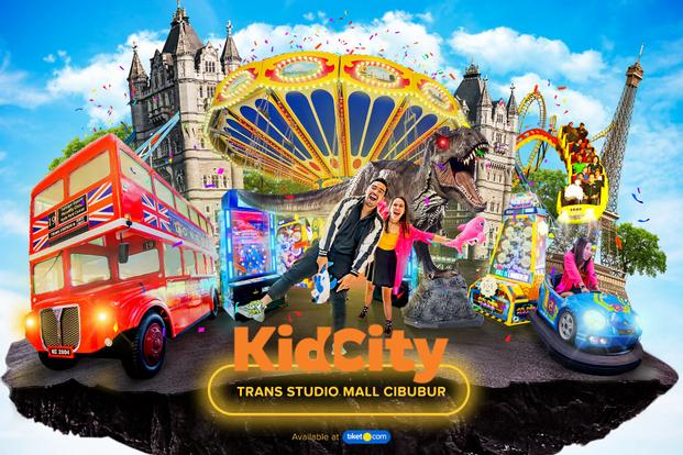 Voucher Kid City Trans Studio Mall Cibubur