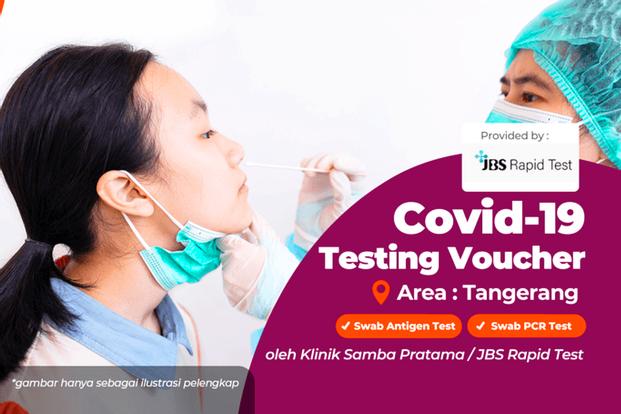 COVID-19 PCR and Antigen Test Drive Thru in JBS Rapid Test Tangerang