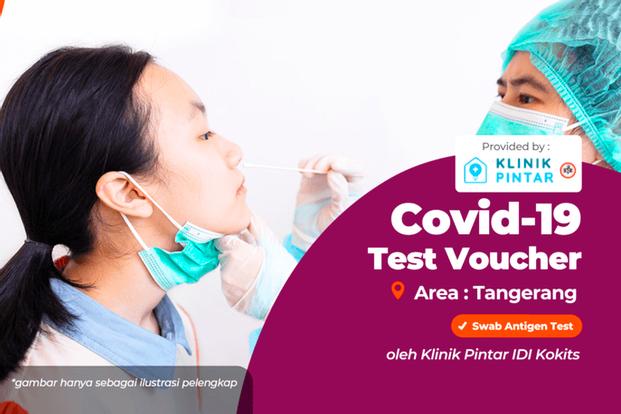 COVID-19 PCR and Antigen Home Service Test by Klinik Pintar IDI Kokits Tangerang