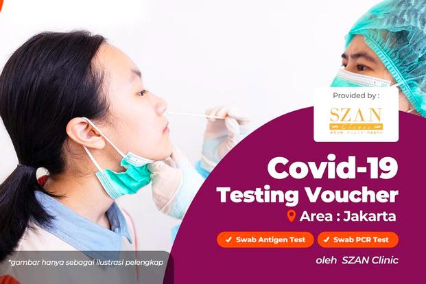 COVID-19 PCR and Antigen Test in SZAN Clinic Jakarta