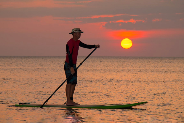 Sunset Stand Up Paddle Boarding Experience in Kota Kinabalu