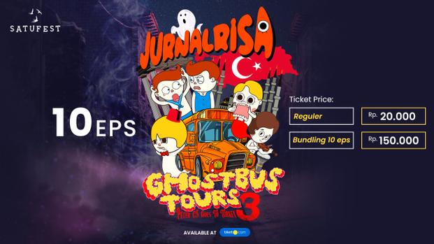GhostBusTour Jurnalrisa #3 Peter Cs Goes to Turkey