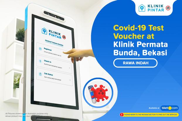 COVID-19 PCR and Antigen Home Service Test by Klinik Pintar IDI Permata Bunda Bekasi
