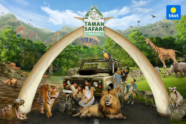 Taman Safari Prigen - Surabaya