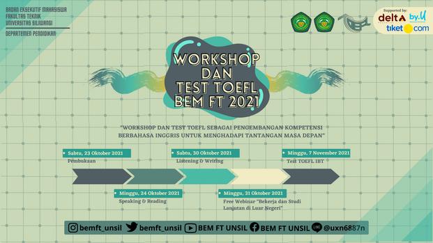 Workshop dan Test TOEFL