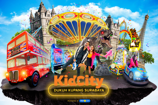 Voucher Kid City Dukuh Kupang Surabaya