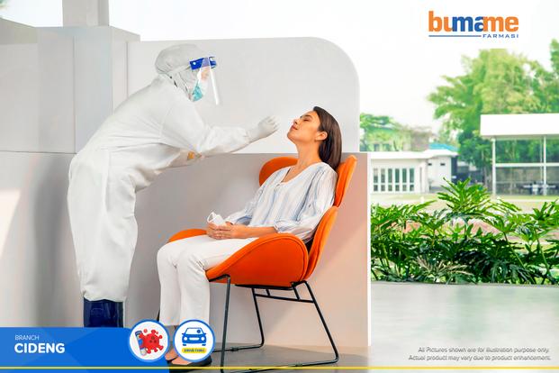 COVID-19 PCR / Swab Antigen Test by Bumame Farmasi Cideng
