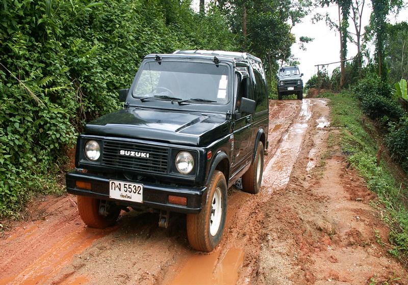 Jeep Trek Adventure from Chiang Mai