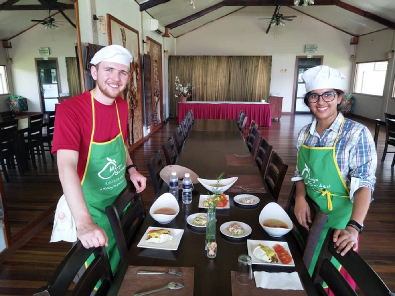 Cooking Class and Upside Down House Tour