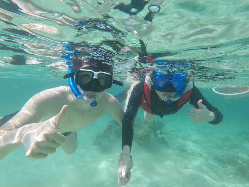 Fun Boat Snorkelling with Island Visit