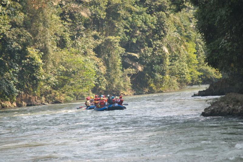 White Water Rafting Experience in Asahan River