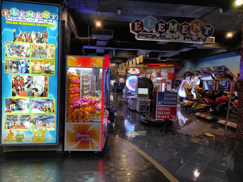 Element Family Fun Game Center in Bali and Singaraja