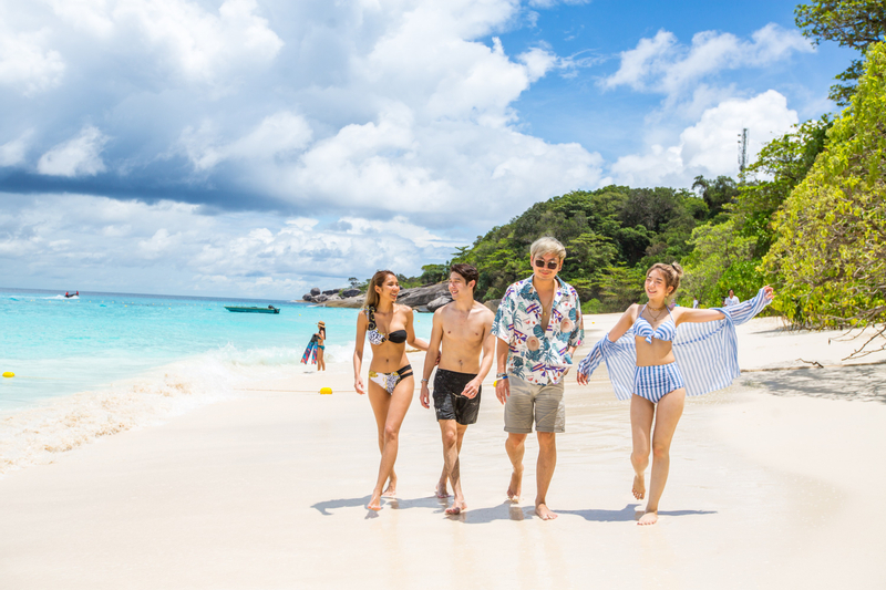 Similan Islands Day Trip with Speed Boat By Sea Star
