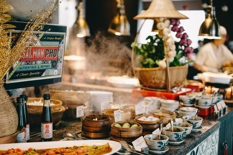 Chic Buffet Lunch at Saigon Kitchen - Hotel des Arts Saigon – MGallery