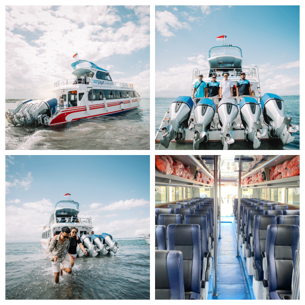 Fast Boat Ticket between Bali (Sanur) and Nusa Penida