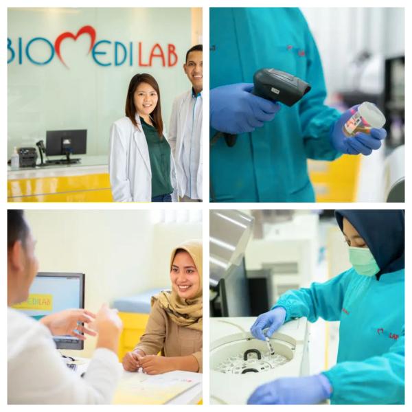 COVID-19 Antigen Test Drive Thru in Biomedilab Jakarta Barat
