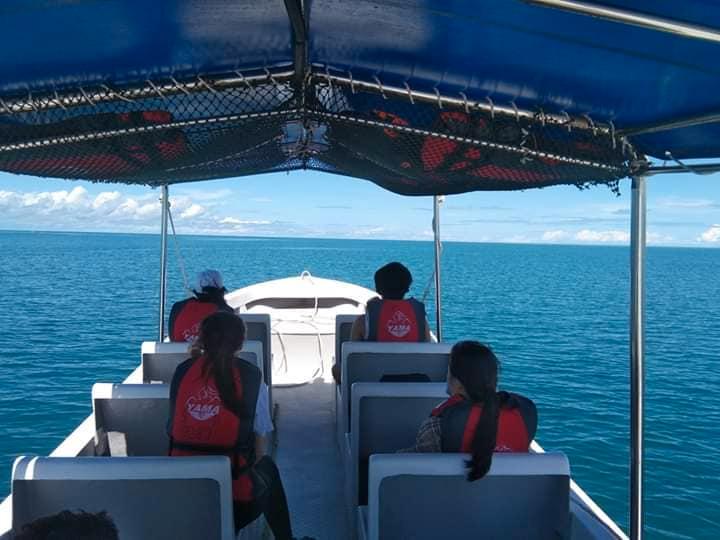 Shared Timba-timba Island, Mataking, and Pom Pom Boat Transfer