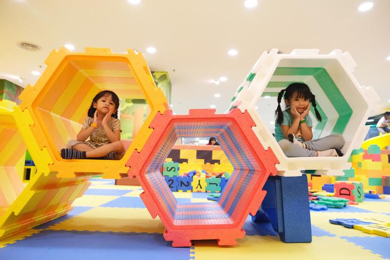 Utopia Jungle World Indoor Children Playground in Paradigm Mall JB