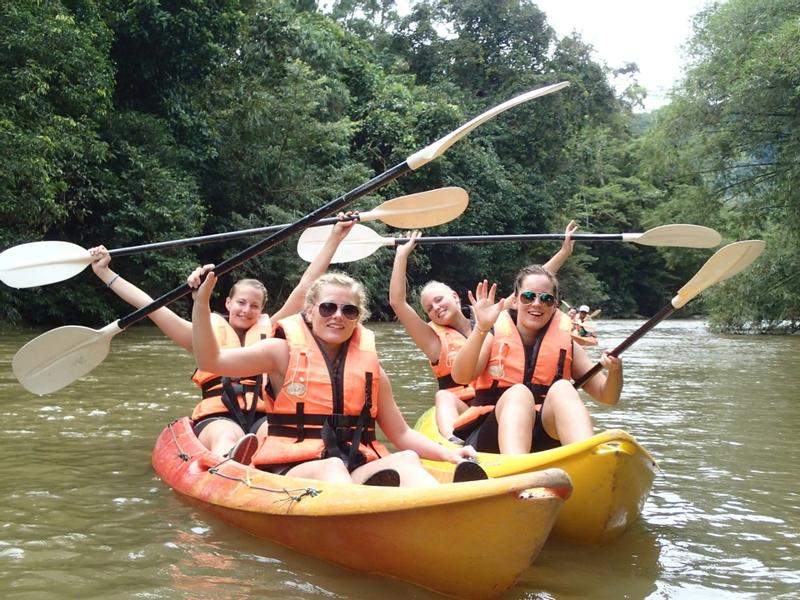 Rainforest Kayaking Adventure in Sarawak