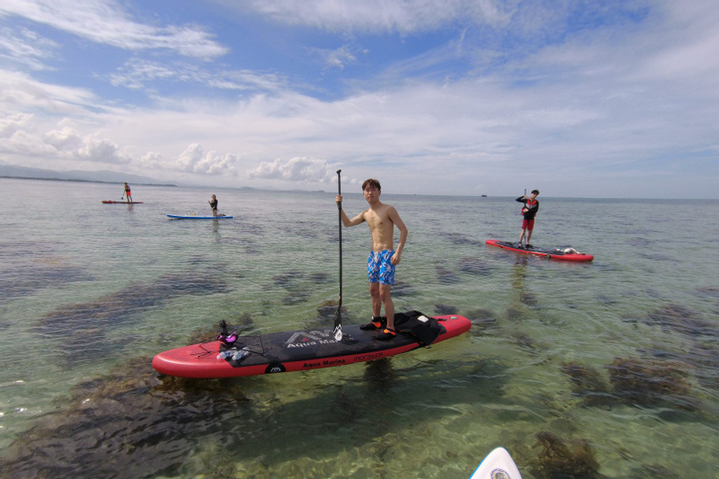 Stand Up Paddling and Snorkelling Experience in Kota Kinabalu