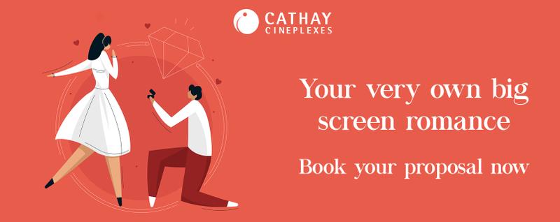Cathay Cineplexes Wedding Proposal Singapore