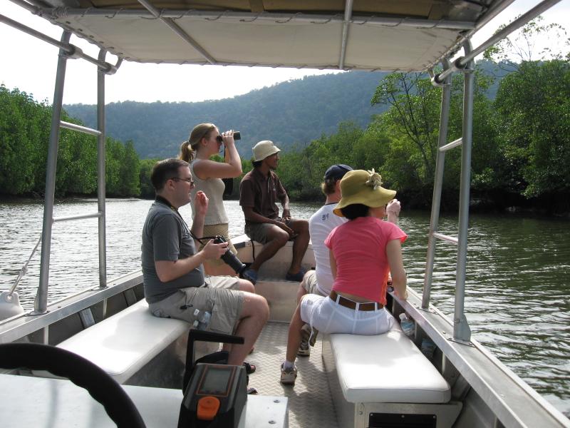 Kubang Badak Mangrove River Cruise with Swimming