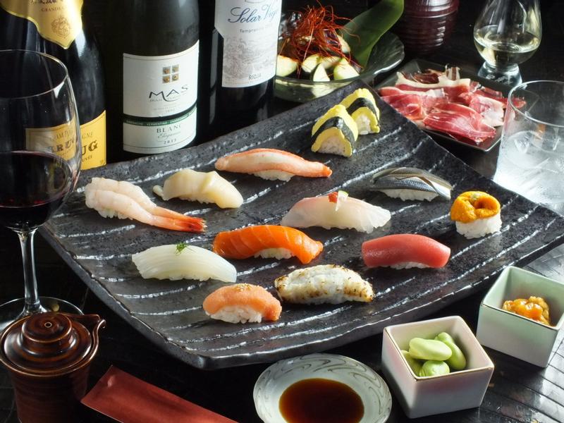 Sushi Bar (すしBAR) in Sapporo Susukino