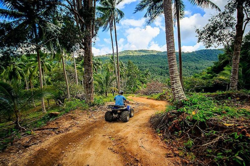 2-Hour ATV Jungle Adventure Experience from Koh Samui
