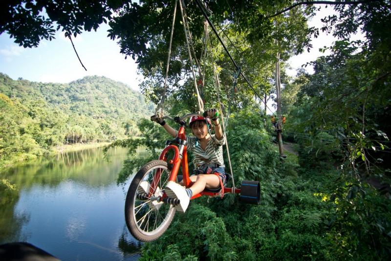 Tree Top Adventures in Kanchanaburi