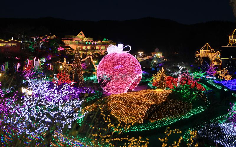 Edelweiss Swiss, Yangpyeong Dumulmeori, & Herb Island Lighting & Illumination Festival Tour