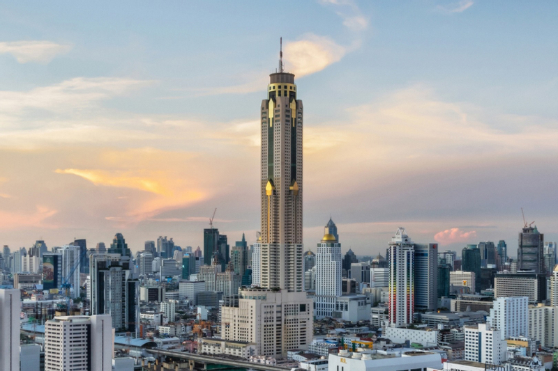 Baiyoke Sky Hotel 76th and 78th Floor Bangkok Sky Buffet with Observation Deck Admission