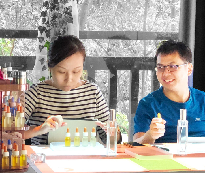 Perfume Workshop Experience in Goodman Arts Centre