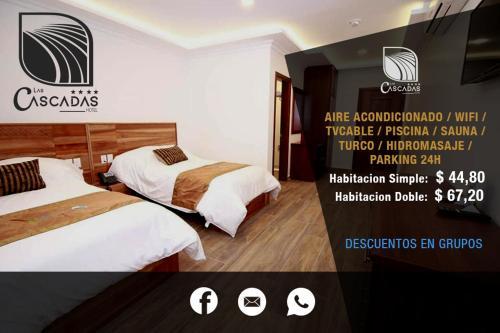 hotel las cascadas, La Maná