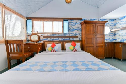 Furnished 1BHK Boat House in Edapally, Kochi, Ernakulam