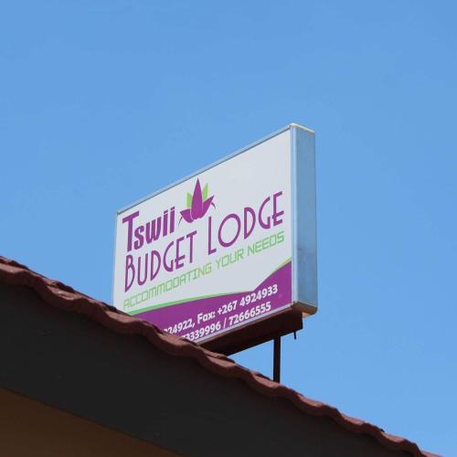 Tswii Budget Lodge, Palapye