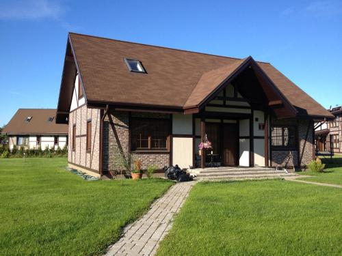 Balabka's family home, Ogre