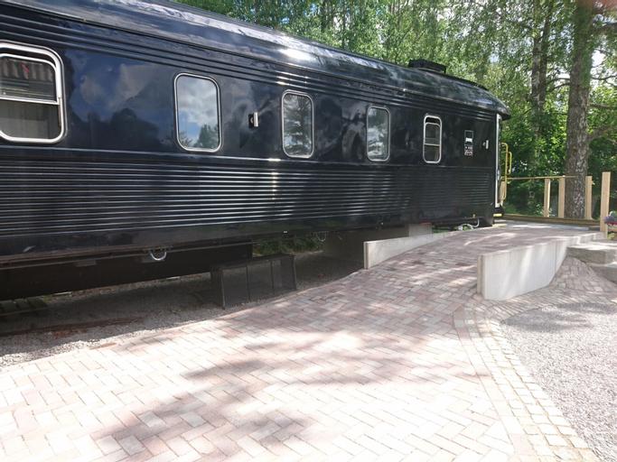 Tågvagnshotellet - Silleruds Station, Årjäng