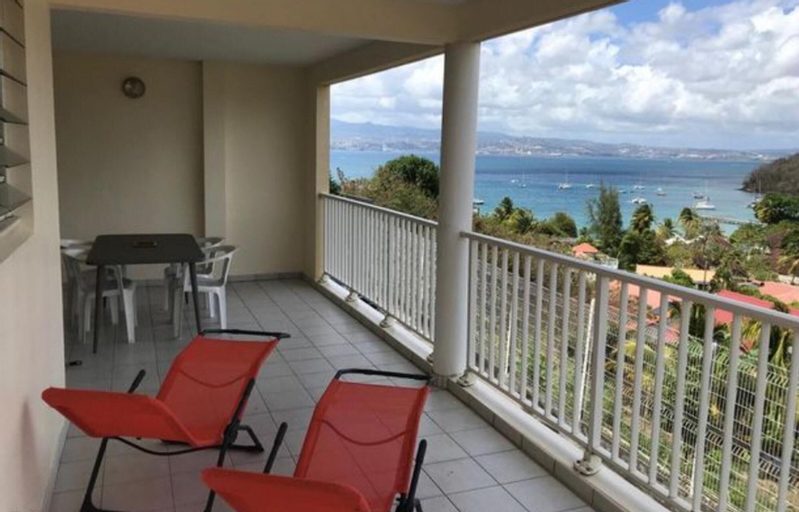 Apartment With 2 Bedrooms in Les Trois-îlets, With Wonderful sea View, Enclosed Garden and Wifi - 150 m From the Beach, Les Trois-Îlets