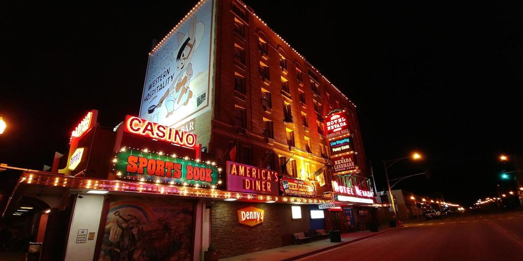 Historic Hotel Nevada and Gambling Hall, White Pine