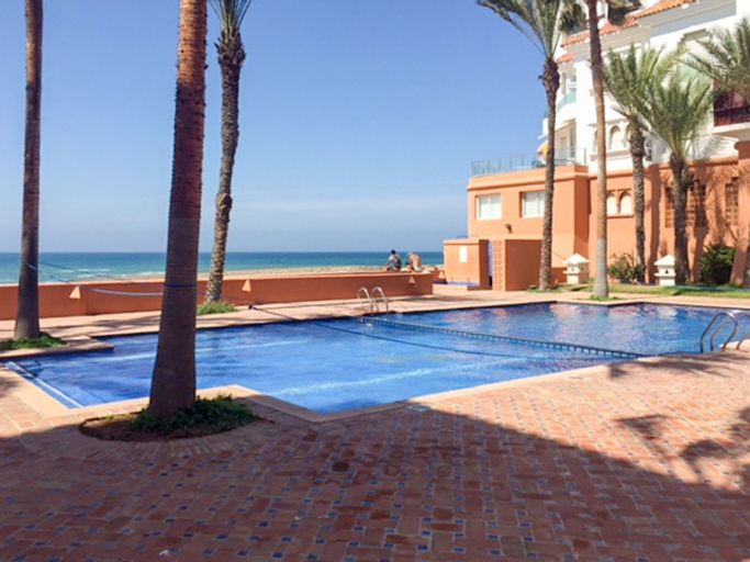 Apartment With 2 Bedrooms in Bouznika, With Wonderful sea View, Pool A, Ben Slimane