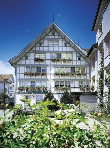 Idyllhotel Appenzellerhof, Appenzell Ausserrhoden