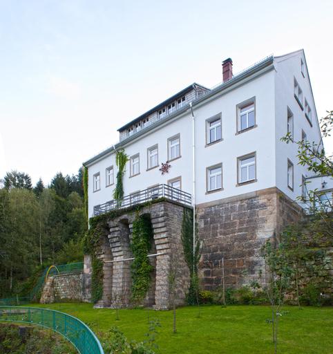 Die Burg Schöna, Sächsische Schweiz-Osterzgebirge