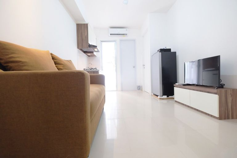 Compact 2BR Bassura City Apartment Connect to Swimming Pool By Travelio, East Jakarta